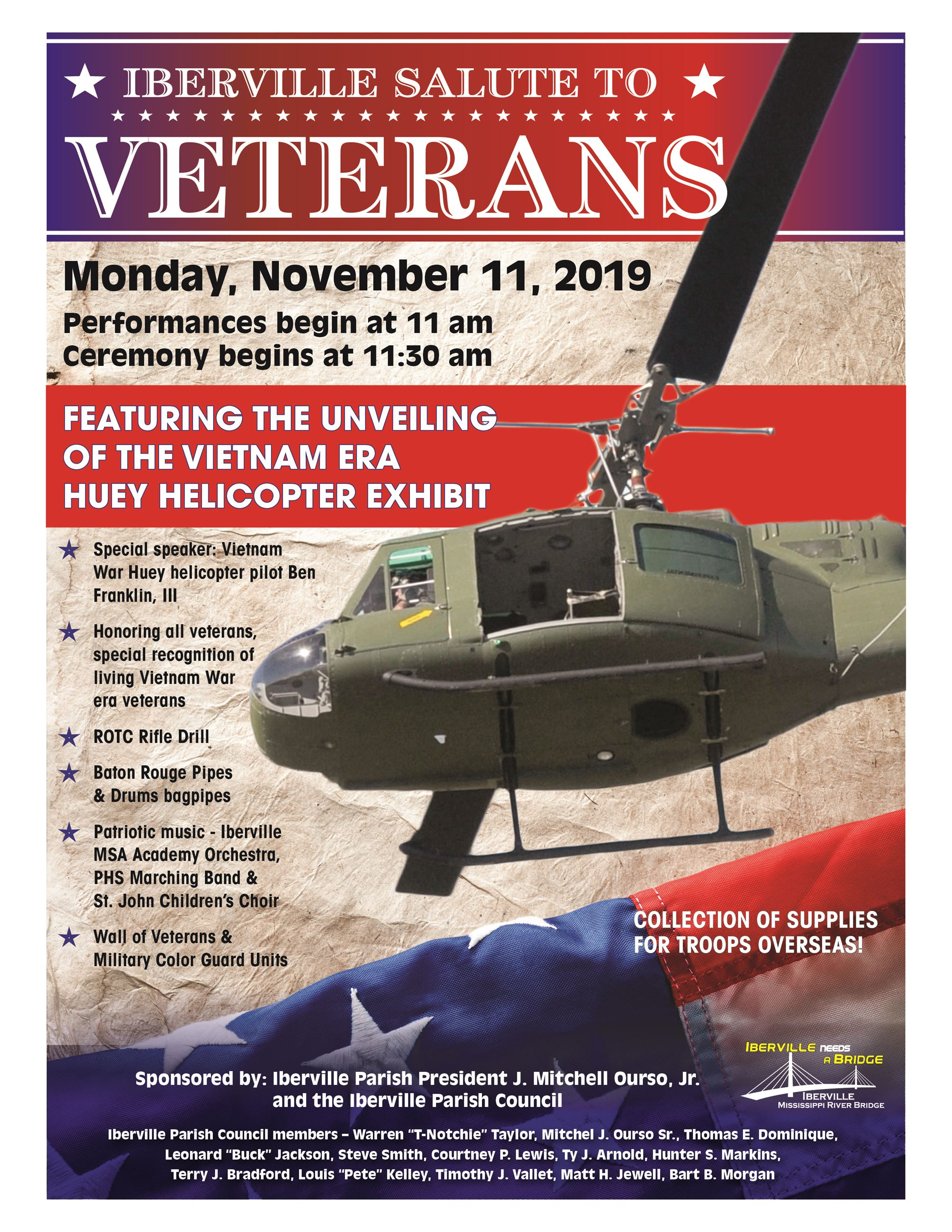 Salute to veterans Flyer 2019